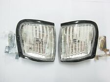 2 X FRONT CORNER LIGHTS HOLDEN RODEO NEW ISUZU PICKUP TF TFR 1998 - 2002 99 01