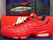 Nike Air Max 95 iD Red Navy USA SZ 10 ( 818592-992 )