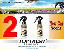 2 Btl Spray Treefrog TOP FRESH Fragrance Mist Air Freshener- NEW CAR Scent