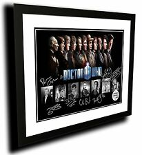 DOCTOR WHO FRAMED SIGNED LIMITED EDITION FRAMED MEMORABILIA