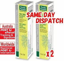 2 x Thursday Plantation Tea Tree Blemish Stick 7ml invisible gel for skin