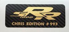 2 x Motorsport Racing Aufkleber LIMITED EDITION Carbon für Motorrad oder Auto