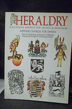 Arthur Charles Fox-Davies. HERALDRY. A PICTORIAL ARCHIVE FOR ARTISTS & DESIGNERS