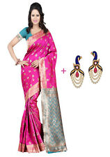 Bollywood Saree Party Wear Indian Pakistani Ethnic Designer Sari Wedding Saree