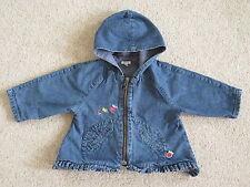 Catimini veste en jean, manteau 6 - 12 mois, designer, excellent état