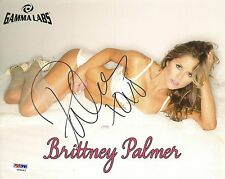 Brittney Palmer Signed UFC 8x10 Photo PSA/DNA COA Octagon Girl Picture Autograph