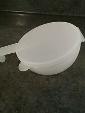 Tupperware Forget Me Not Refrigerator Onion Tomato Vegetable Keeper Large Sheer