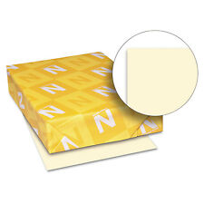 Neenah Paper Exact Index Card Stock 110 lbs. 8-1/2 x 11 Ivory 250 Sheets/Pack