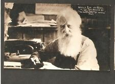 VINTAGE RPPC POSTCARD UNCLE IKE SHEPHERD OF THE HILLS COUNTRY POST OFFICE FORKS