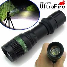 Ultrafire CREE XM-LT6 Zoomable 5000 Lumen Tactical LED Flashlight Torch Lamp
