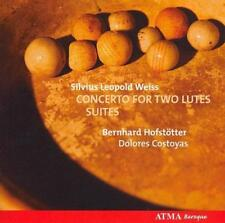 Silvius Leopold Weiss: Concerto for Two Lutes; Suites (CD, Apr-2007, ATMA...