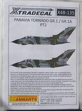 XTRADECAL 1/48 x48135 Panavia Tornado gr.1/gr.1a PT 2 set di decalcomanie