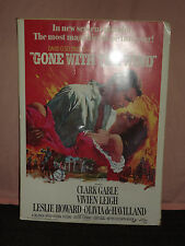 "VINTAGE LARGE 28"" X 20"" 1976 GONE WITH THE WIND CARDBOARD MOVIE POSTER"