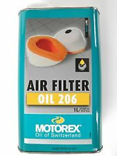 MOTOREX AIR FILTER OIL 206 per FILTRO ARIA MOTO CROSS UNIVERSALE