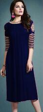 Trendy Western Georgette embroidary Sleeve work Kurti N BLU