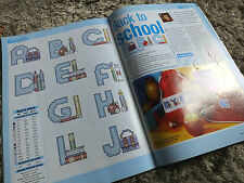 back to school alphabet cross stitch chart ch8