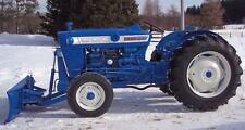 FORD TRACTOR 2000 3000 4000 5000 Operator Manual