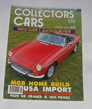 COLLECTORS CARS SPRING 1991 PRICE GUIDE & AUCTION REVIEW - MGB HOME BUILD