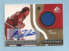GUY LAFLEUR 2005/06 SP GAME USED JERSEY AUTOGRAPH AUTO /100 CANADIENS