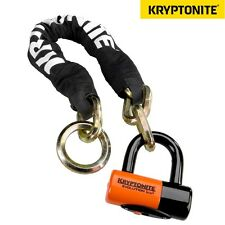 Kryptonite New York Noose 130 cm Chain w EV Series 4 Bike Disc Lock