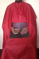 Barber Hairdressing Gown / Apron With Viewing Window @ £ 3.99