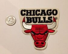 "Chicago Bulls 4""x 4"" NBA Felt Patch Vintage"