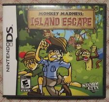 Nintendo DS - Monkey Madness : Island Escape (Manual, box and game)