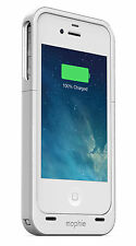 Mophie Juice Pack Air External Charging Battery Case for iPhone 4/4s - White