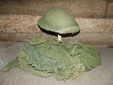 Filet de Casque Mark II/ III Anglais 39/45 Authentique. British Net Helmet .WW2.