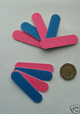 Mini emery boards/nail files,  FOR 20,  gr8 4 the handbag. FREE P&P UK SELLER