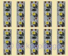 S354 - 10 pièces Mini LED hausbeleuchtung 2,5cm blanc chaud par exemple des maisons wagons...