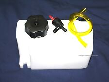 Plastic Fuel Gas Tank Go Kart Racing  Briggs Raptor Engine Tillotson Carburetor