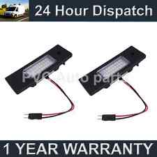 2X FOR BMW 6 SERIES F12 F13 2011 On 24 WHITE LED NUMBER PLATE LIGHT LAMPS