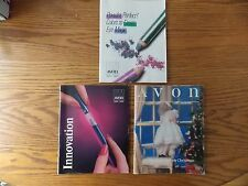 3 1986-89 Avon Cosmetics/Jewelry Catalogs