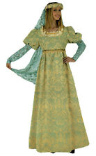 Deluxe Hire Quality Medieval Period Brocade Masquerade Ball Fancy Dress Costume