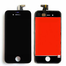 LCD Display Touchscreen Komplettset Front Glas für iPhone 4 4G Schwarz