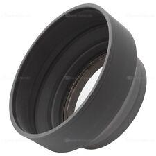 58mm Sonnenblende Gummi lens hood für Kameras mit 58 mm Einschraubanschluss