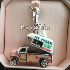 RARE! BRAND NEW! JUICY COUTURE ICE CREAM TRUCK BRACELET CHARM IN TAGGED BOX