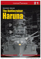 Kagero Top Drawings 21: The Battleship Haruna