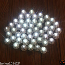 50 Led Ball Lamps Balloon Light for Paper Lantern Wedding Party Decoration White