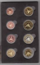 VATICAN - PROBE PATTERN ESSAI 8 DIF COINS SET 0.01 - 2 2005 YEAR SHEDE VACANTE