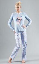 POMPEA No Stress cotton pajamas pyjamas pigiama cotone donna BEYONCE' S 42 BNWT