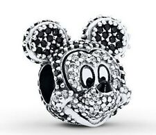 "PANDORA  ""Disney, Limited Edition Sparkling Mickey Portrait Charm"" Mickey Mouse"