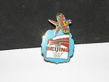 Beijing 2008 Summer Olympics NBC Official Logo Moving Bird Kite Pin