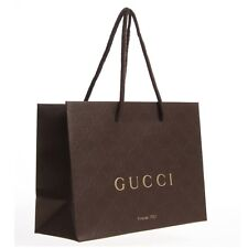 10 gucci marron papier sacs cadeau W3-get your little brown sacs maintenant