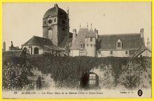 cpa 61 - ALENCON (Orne) MAISON d'OZÉ demeure médiévale et BASILIQUE Notre Dame