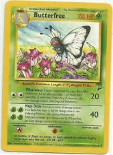 POKEMON BUTTERFREE 34/130 CARD #12 1st Edition Used/High Grade Near Mint