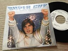 "SUPER GUY - SKYWAY 7"" SINGLE SPAIN WHITE LABEL RCA 80 - DISCO"
