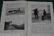 1924 magazine article about CORNWALL England and area, people, architecture etc
