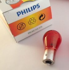 PHILIPS Glühlampe PR21W 12V 21W BAW15s rot 12088CP 12088 CP Kugellampe Lampe